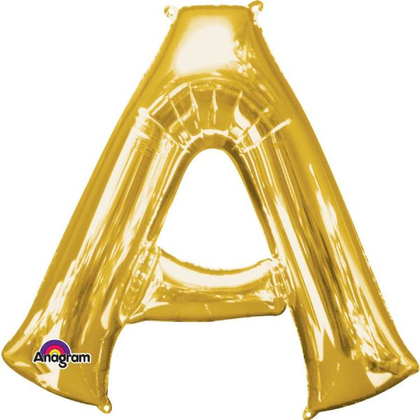 SuperShape Letter A - Gold